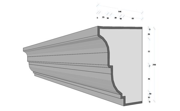 M130 - Decorative Exterior Moulding