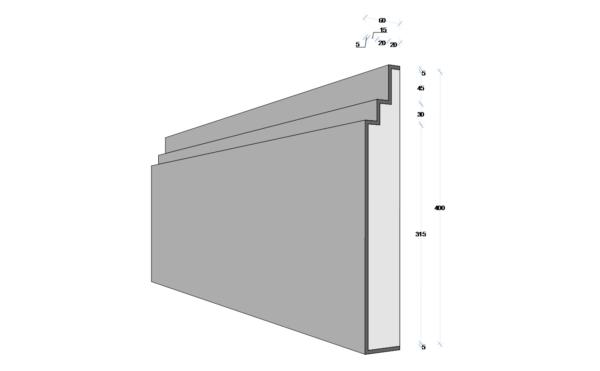 M139 - Decorative Exterior Moulding