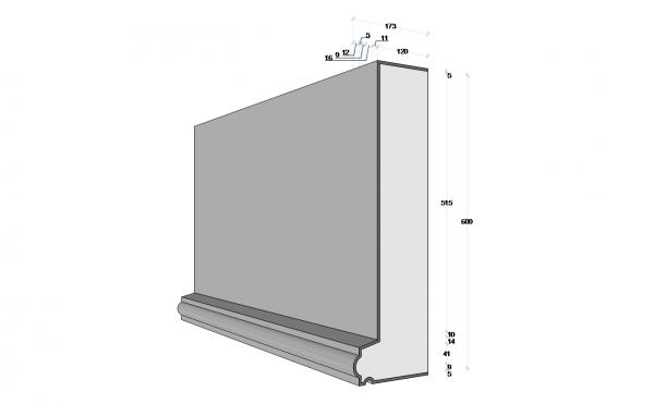 M197 - Decorative Exterior Moulding